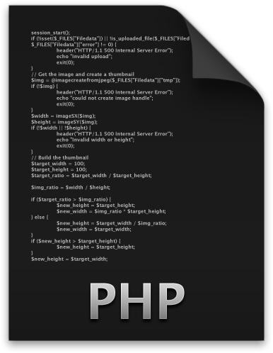 Move Files Using PHP Code